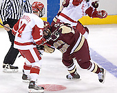 Andrew Joudrey, Benn Ferreiro - The University of Wisconsin Badgers defeated the Boston College Eagles 2-1 on Saturday, April 8, 2006, at the Bradley Center in Milwaukee, Wisconsin in the 2006 Frozen Four Final to take the national Title.