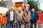 Attending the Steam Threshing Machine exhibition in Ballymac on Sunday last in aid of Kerry Hospice and the Alzheimers Society. Mick Heffernan, Sean O'Connor, Derry Sugrue and Mike Brosnan.