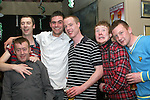 Jimmy Flood, Gareth Ryan, Conor Murtagh, Dale Thornton, Emmet Judge and Peter StClair in the Riverhouse...Photo NEWSFILE/Jenny Matthews.(Photo credit should read Jenny Matthews/NEWSFILE)....This Picture has been sent you under the condtions enclosed by:.Newsfile Ltd..The Studio,.Millmount Abbey,.Drogheda,.Co Meath..Ireland..Tel: +353(0)41-9871240.Fax: +353(0)41-9871260.GSM: +353(0)86-2500958.email: pictures@newsfile.ie.www.newsfile.ie.FTP: 193.120.102.198.