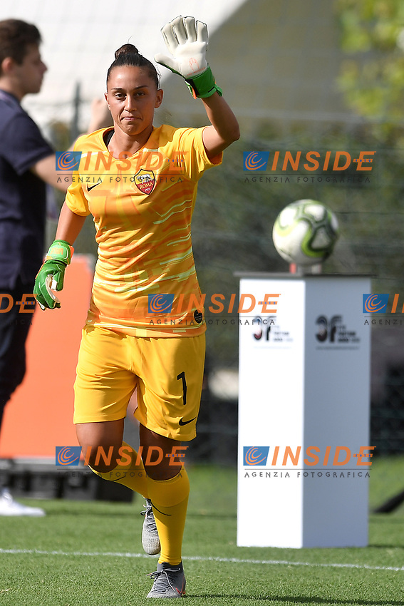 Valentina Casaroli of AS Roma <br /> Roma 8/9/2019 Stadio Tre Fontane <br /> Luisa Petrucci Trophy 2019<br /> AS Roma - Paris Saint Germain<br /> Photo Andrea Staccioli / Insidefoto