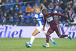 CD Leganes's  Martin Braithwaite (L) and RC Celta de Vigo's Pape Cheikh during La Liga match 2019/2020 round 16<br /> December 8, 2019. <br /> (ALTERPHOTOS/David Jar)
