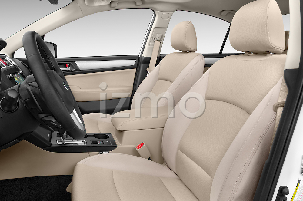 Front seat view of a 2015 Subaru Legacy 2.5i Premium 4 Door Sedan Front Seat car photos