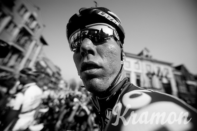 3 Days of De Panne.stage 2..Marcel Sieberg at the start.