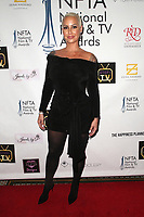 LOS ANGELES, CA - DECEMBER 5: Amber Rose at The National Film and Television Awards at The Globe Theater in Los Angeles, California on December 5, 2018. Credit: Faye Sadou/MediaPunch