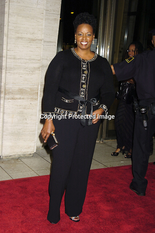 """Dianne Reeves ..at The Opening of The 43rd New York Film Festival showing of """"Good Night, and Good Luck on September 23, 2005 at Avery Fisher Hall. ..Photo by Robin Platzer, Twin Images.."""