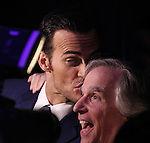 Cheyenne Jackson & Henry Winkler attending the Broadway Opening Night Performance After Party for 'The Performers' at E-Space in New York City on 11/14/2012