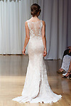 Model walks runway in a Saylor gown from the Beloved Bridal collection at the Casablanca Bridal 20th anniversary celebration runway show, on October 8, 2017; during New York Bridal Fashion Week Spring 2018.