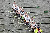 Crew: 104   Staines Boat Club   Mas.Nov.8+ (C)<br /> <br /> Veterans' Head of the River Race 2018<br /> <br /> To purchase this photo, or to see pricing information for Prints and Downloads, click the blue 'Add to Cart' button at the top-right of the page.