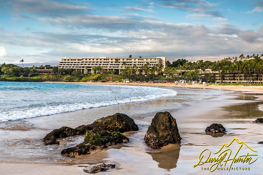Mauna Kea Resort, Big Island of Hawaii, perhaps one of the nicest beaches on the Big Island.