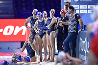 GAIDUKOV Alexander RUS Coach time out  <br /> Budapest 12/01/2020 Duna Arena <br /> SLOVAKIA (white caps) Vs. RUSSIA (blue caps)<br /> XXXIV LEN European Water Polo Championships 2020<br /> Photo  © Andrea Staccioli / Deepbluemedia / Insidefoto
