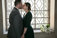 Danielle and Bryan at City Hall