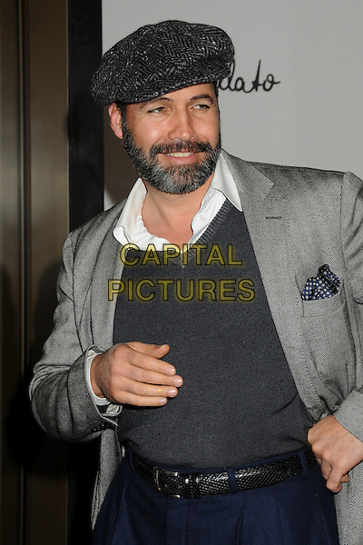 Billy Zane.Pomellato Celebrates Rodeo Drive Boutique Opening Hosted By Tilda Swinton, Benefiting MOCA held at Pomellato Boutique, Beverly Hills, California, USA..January 30th, 2012.half length jacket top jumper sweater black grey gray beard facial hair hat cap.CAP/ADM/BP.©Byron Purvis/AdMedia/Capital Pictures.