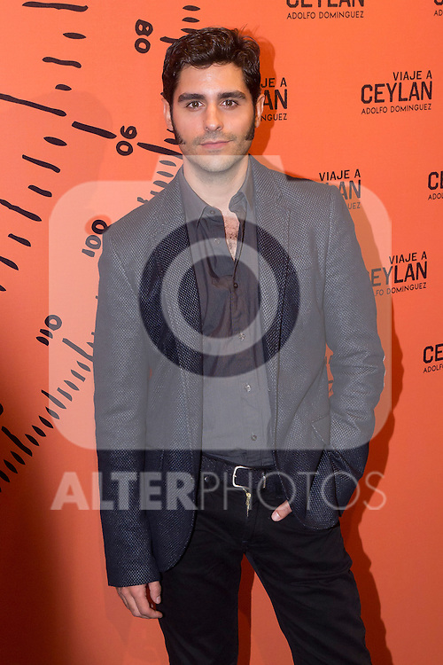 10.10.2012. Celebrities attend the presentation of the new fragrance by Adolfo Dominguez 'Travel Ceylan' in the Flagship Store of Adolfo Domínguez in Madrid, Spain. In the image Antonio Velazquez  (Alterphotos/Marta Gonzalez)