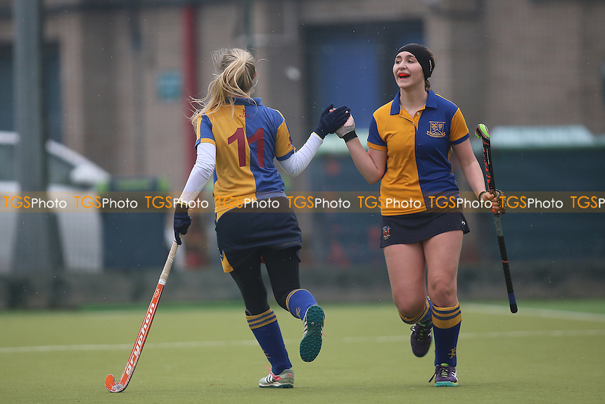 Upminster HC Ladies 2nd XI vs Basildon HC Ladies 2nd XI, Essex Women's League Field Hockey at the Coopers Company and Coborn School on 11th February 2017