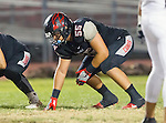 Lawndale, CA 11/11/16 - Angel Becerra (Lawndale #56) in action during the West Torrance - Lawndale CIF first round playoffs.  Lawndale defeated West Torrance 48-14.