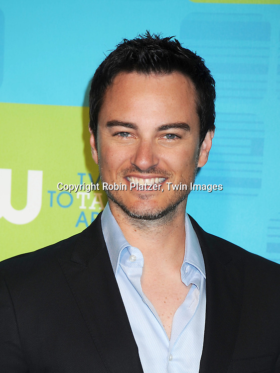 Kerr Smith  posing for photographers at the CW Network 2010 Upfront on May 20, 2010 at Madison Square Garden in New York City.
