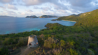 View of Peace Hill looking towards Trunk Bay<br />