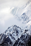 USA, Alaska, a section of Mount Denali, Denali National Park
