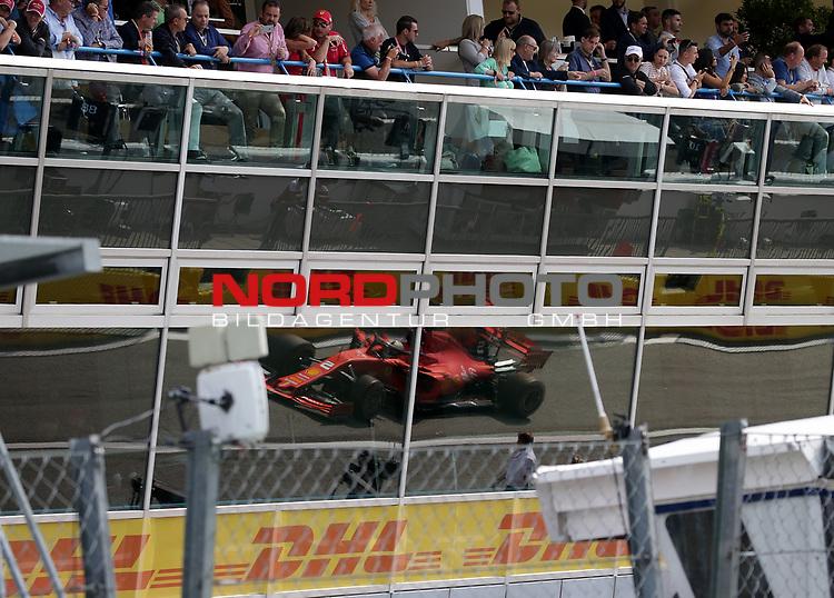 08.09.2019, Autodromo Nazionale di Monza, Monza, FORMULA 1 GRAN PREMIO HEINEKEN D'ITALIA 2019<br />,im Bild<br />Sebastian Vettel (GER#5), Scuderia Ferrari Mission Winnow<br /> <br /> Foto © nordphoto / Bratic