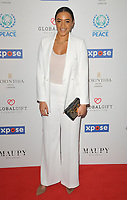 Amal Fashanu at the Football For Peace Initiative Dinner by Global Gift Foundation, Corinthia Hotel, Whitehall Place, London, England, UK, on Monday 08th April 2019.<br /> CAP/CAN<br /> &copy;CAN/Capital Pictures