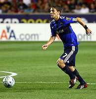 Will Johnson in the MLS All Stars v Everton 4-3 Everton win at Rio Tinto Stadium in Sandy, Utah on July 29, 2009