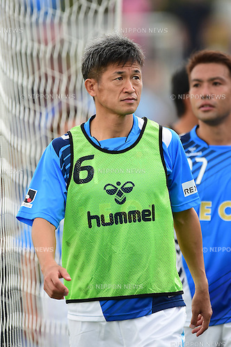 Kazuyoshi Miura (Yokohama FC),<br /> OCTOBER 4, 2014 - Football / Soccer :<br /> Kazuyoshi Miura of Yokohama FC after the 2014 J.League Division 2 match between Yokohama FC 0-2 Matsumoto Yamaga FC at Ajinomoto Field Nishigaoka in Tokyo, Japan. (Photo by AFLO)