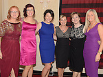 Eithne Smith, Michelle Egan, Linda Cruise, Olwyn Curran, Sharon Hanna and Helga McDonnell pictured at the Drogheda Athletic Club annual dinner in the Westcourt Hotel. Photo:Colin Bell/pressphotos.ie