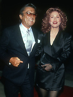 Robert Evans, Faye Dunaway, 1994, Photo By Michael Ferguson/PHOTOlink
