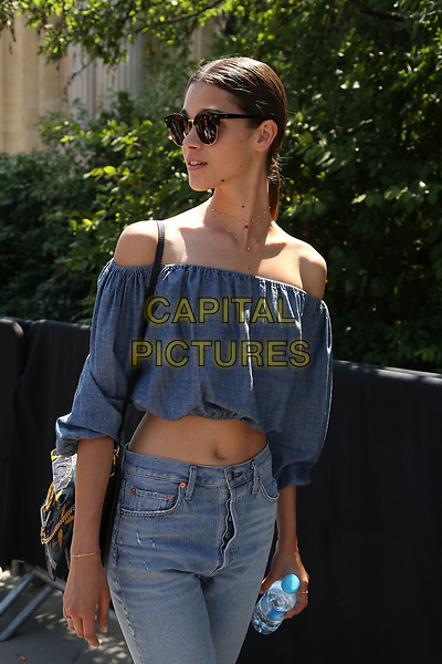 Chanel Street Fashion at show<br /> HAUTE COUTURE Fall/Winter 17/18<br /> at Paris Fashion Week in France on  July 04, 2017.<br /> CAP/GOL<br /> &copy;GOL/Capital Pictures