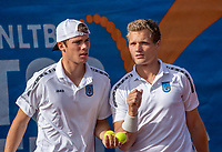 Zandvoort, Netherlands, 8 June, 2019, Tennis, Play-Offs Competition, Mans doubles: Ryan Nijboer and Bart Stevens (R) (NED)<br /> Photo: Henk Koster/tennisimages.com