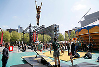 Nederland Rotterdam 2017. Rotterdam Circusstad op het Schouwburgplein. Foto Berlinda van Dam / Hollandse Hoogte