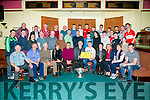 Reception for Footballer Andrew Barry at Na Gaeil Clubhouse on Friday