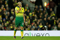 8th November 2019; Carrow Road, Norwich, Norfolk, England, English Premier League Football, Norwich versus Watford; A dejected Teemu Pukki of Norwich City - Strictly Editorial Use Only. No use with unauthorized audio, video, data, fixture lists, club/league logos or 'live' services. Online in-match use limited to 120 images, no video emulation. No use in betting, games or single club/league/player publications