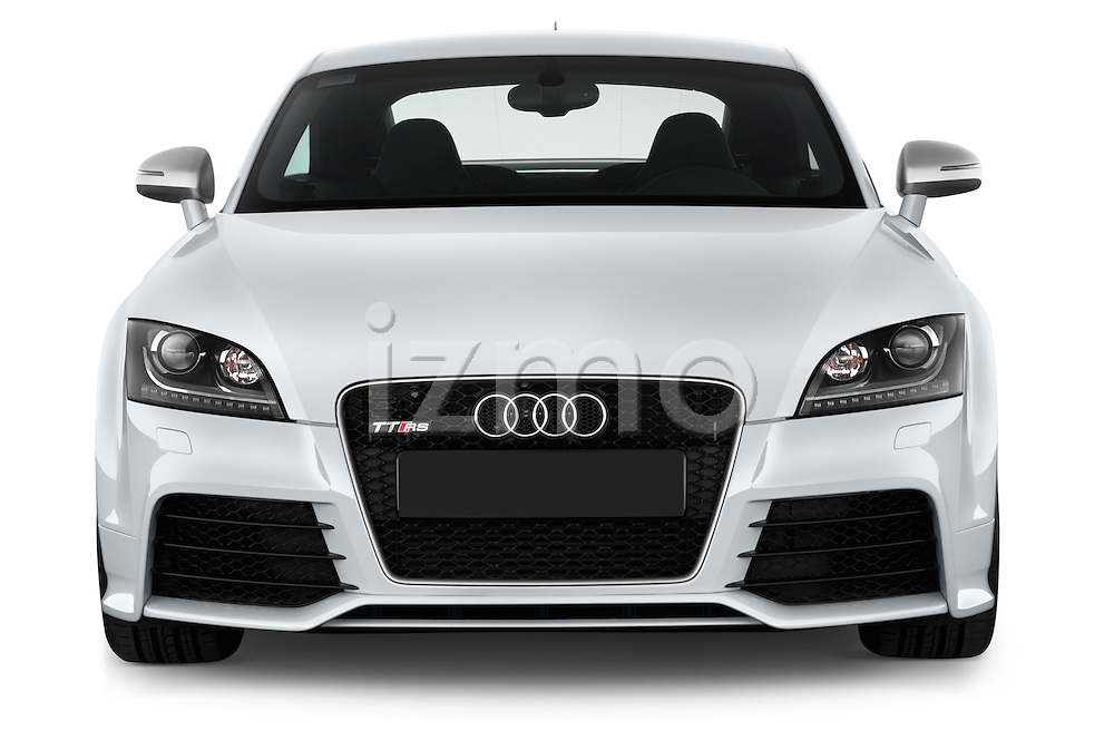 Straight front view of a 2010 - 2014 Audi TT RS 3 Door Coupe 4WD.