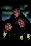 Church representatives from around the world participate in a candlelight vigil for peace in the Korean Peninsula on December 9, 2017, in Gwanghwamun Square in Seoul, South Korea. The ecumenical Advent vigil was part of &quot;A Light of Peace&quot; campaign sponsored by the World Council of Churches and the National Council of Churches of Korea.<br /> <br /> The church representatives were in Seoul to participate in a WCC Consultation on Ecumenical Diakonia. <br /> <br /> The candlelight vigils were held in Seoul December 3-9, after which churches throughout the country planned to continue the vigils in small towns and villages.