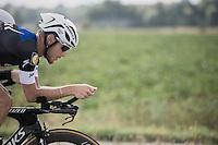 Matteo Trentin (ITA/Etixx-QuickStep) during TTT recon<br /> <br /> 12th Eneco Tour 2016 (UCI World Tour)<br /> stage 5 (TTT) Sittard-Sittard (20.9km) / The Netherlands