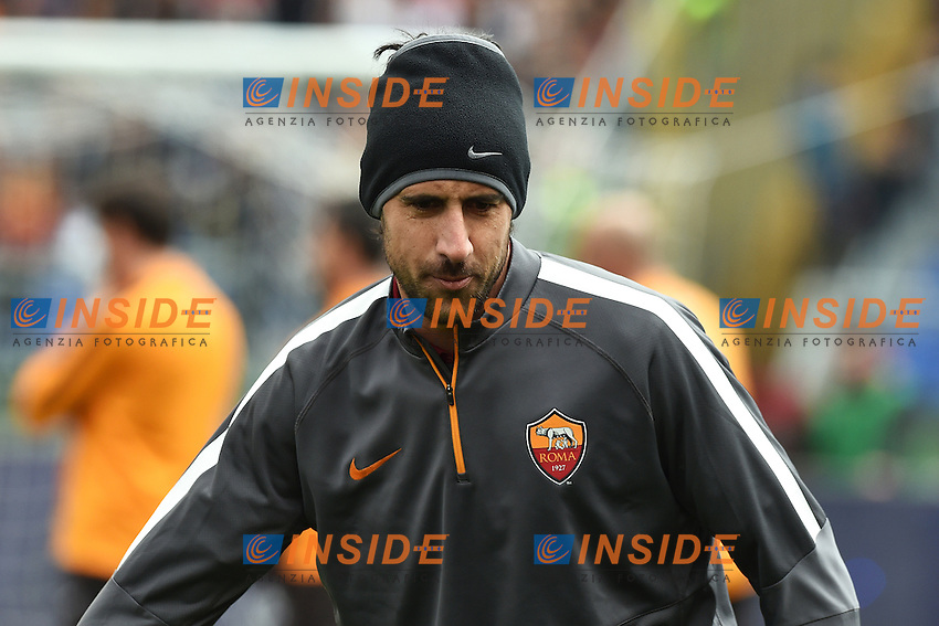 Nicolas Spolli Roma <br /> Roma 15-02-2015 Stadio Olimpico, Football Calcio Serie A AS Roma - Parma Foto Andrea Staccioli / Insidefoto