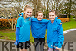 Enjoying the Parkrun on Saturday for  RTE  Operation Transformation were Sive Louth, Daisy Nowak and Lily Nowak