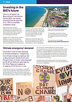 BNPS.co.uk (01202 558833)<br /> Pic: BCPCouncil/BNPS<br /> <br /> The front of the magazine<br /> <br /> A council that recently declared a 'climate emergency' has been left red-faced after thousands of copies of their own magazine were found dumped at a waste facility.<br /> <br /> The quarterly magazine is meant to have been delivered to over 180,000 households in the Bournemouth, Christchurch and Poole area of Dorset.<br /> <br /> The most recent edition carries an article headlined 'Value Your Waste' that tells residents 'it's time we all did more to stop wasting our waste.'<br /> <br /> Another article in BCP News states how the local authority has pledged go 'carbon neutral by 2030' by announcing a climate emergency.<br /> <br /> The council, that prints the magazines in Blackpool, Lancs, from where they are driven 300 miles to the south coast, also recently announced it to hire a 'Zero Carbon Support Officer' on a salary of £35,000 a year.