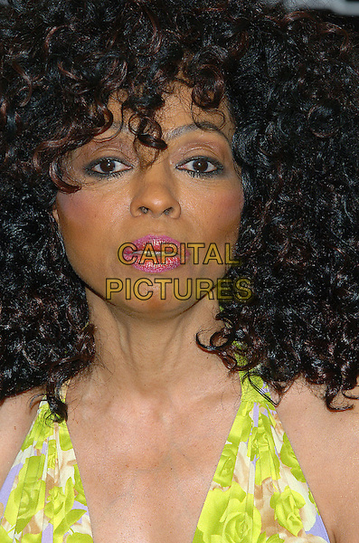 DIANA ROSS.The launch of the Diana Ross Collection as part of the New 2005 Beauty Icon Series at the M.A.C. Cosmetics Store, Los Angeles, CA.January 20th, 2005.Photo Credit: Jacqui Wong/AdMedia.headshot, portrait, funny face, ringlets, big curly hair.www.capitalpictures.com.sales@capitalpictures.com.© Capital Pictures.