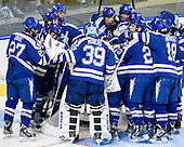 The Boston College Eagles defeated the Air Force Academy Falcons 2-0 in their NCAA Northeast Regional semi-final matchup on Saturday, March 24, 2012, at the DCU Center in Worcester, Massachusetts.