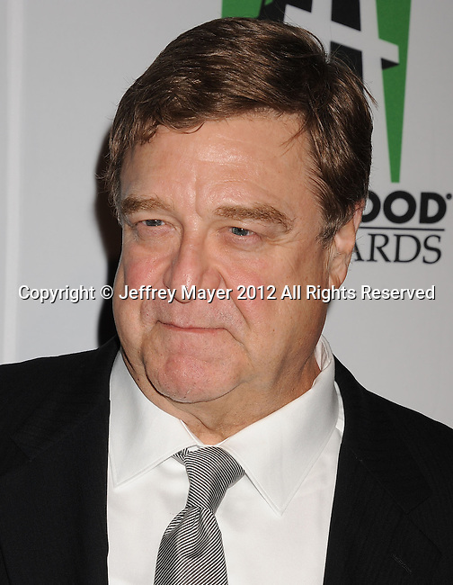 BEVERLY HILLS, CA - OCTOBER 22: John Goodman arrives at the 16th Annual Hollywood Film Awards Gala presented by The Los Angeles Times held at The Beverly Hilton Hotel on October 22, 2012 in Beverly Hills, California.