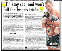 Daily Star 17/04/13 Chris Royle