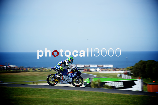 GP Moto Australia during the Moto World Championship 2014 in Phillip Island.<br /> Moto3<br /> <br /> Rafa Marrodán/PHOTOCALL3000