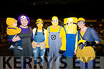 Best Dressed Minions L-R Padraig and Caroline O'Donoghue from Rathmore, Lorraine O'Riordan from Beaufort, Mike Walton from Kenmare, Catriona O'Connor from Scartaglen and Mired O'Sullivan from Killarney at the Minions World Record attempt in The Gleneagle Hotel, Killarney last Sunday.