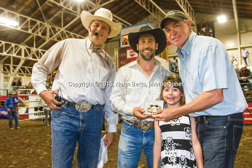 The RAM Rodeo Tour in Alliston, Ontario, Canada, Aug. 29&amp; 30, 2015.<br /> <br /> &copy;2015, Norm Betts, photographer <br /> 416 460 8743<br /> normbetts@canadianphotographer.com