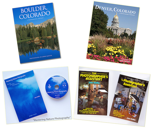 John has written & photographed five books for established publishers. His diversity of professional skills, allows his to teach everything from nature and travel to studio photography and artificial lighting.