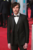 London, UK. 14 February 2016. Tom Hughes. Red carpet arrivals for the 69th EE British Academy Film Awards, BAFTAs, at the Royal Opera House. © Vibrant Pictures/Alamy Live News