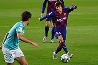 16th July 2020; Camp Nou, Barcelona, Catalonia, Spain; La Liga Football, Barcelona versus Osasuna;  Ricki Puig breaks forward on the ball