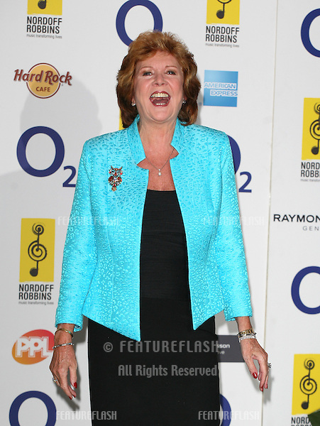 Cilla Black arriving for the Silver Clef Awards 2010, Park Lane Hilton, London. 05/07/2010  Picture by: Alexandra Glen / Featureflash